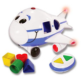 The Learning Journey Jumbo Jet Shape Sorter Control Remoto