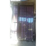 Puerta Exterior Hierro Y Vidrio