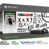 Xbox One X 1tb + 1 Jg Fisico + 7 Jgs Digitales + Financiamie