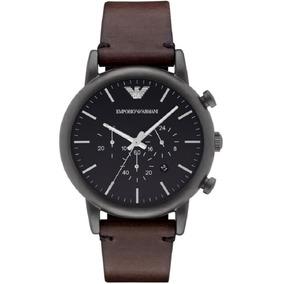 Relógio Emporio Armani Ar1919 Original + Caixa + 3 Anos De G