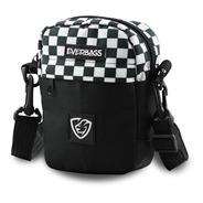 Bolsa Pochet Necessaire Shoulder Bag Everbags Combate Xadrez