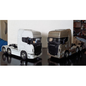 Camion Scania V8 R730 De Coleccion Original De Welly