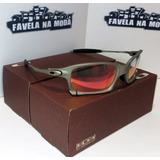 Óculos Oakley X-squared / Plasma / Clear Verme + Lente Extra