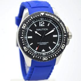 Reloj Hombre Nautica Moderno Acero Premium Original C/ Envio