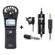 Zoom H1n Grabador Digital Portatil + Microfono Boya By-m1