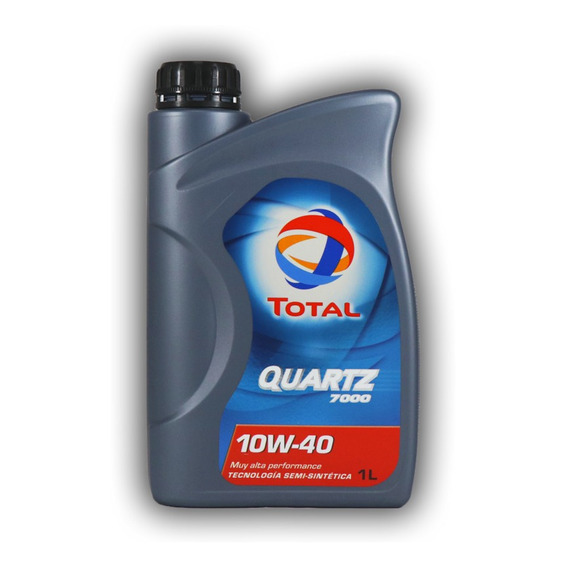 Aceite Para Motor Total Quartz 7000 10w40 1 Litro