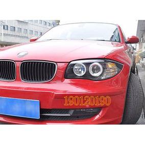 Farol Angel Eyes Bmw S1 E87 2004 A 2011 Black + Kit Xenon
