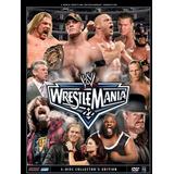 Wwe Wrestlemania 22 3 Discos Dvd Español-inglés