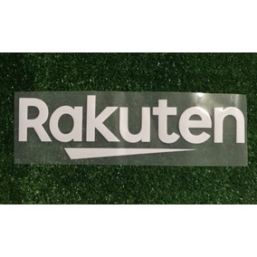 Sponsor. Publicidad Parche Rakuten. Barcelona 2017 - 2018
