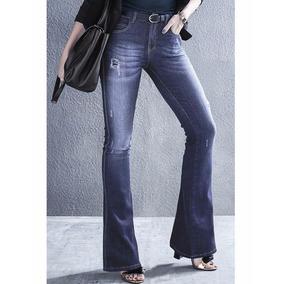 38615bb60f Bone Dzarm - Calças Jeans Femininas no Mercado Livre Brasil