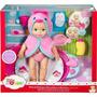 Brinquedo Boneca Little Mommy Na Banheira Original Mattel