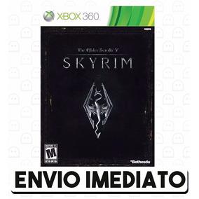 The Elder Scrolls V Skyrim Xbox 360 25 Dígitos Código