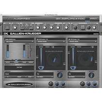 Plugin Gravação Baixo Gallien Krueger Gk 2 Nuendo Studio