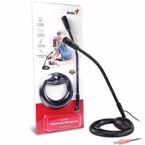 Microfono Para Pc Genius Mic-05a Negro Miniplug 3.5mm Tigre