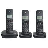 Telefone Motorola Sem Fio Base + 2 Ramais Dect 6.0 500id-3