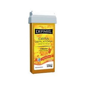 Cera Depilatória Depimiel Roll-on Classica Mel 100g