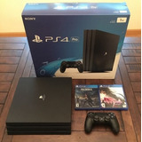 New Sony Ps4 Pro 1tb Sealed Box With 5 Free Games