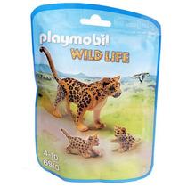 Leopardo Con Crias Playmobil 6940