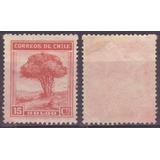 Chile 1938 - 1956 Serie Vistas Y Paisajes