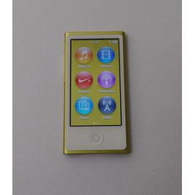 Ipod Nano 7 16gb Amarelo Bluetooth Rádio Usado Parcela Jf0gn