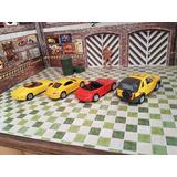 Pack De 4 Autos A Escala De Colección 1/60