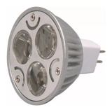 Bombillo Led 3w, 110v, Base Gu5.3. Luz Blanca