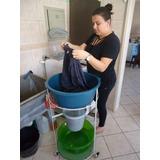 Suporte Amigo P/ Trasportar Roupa Da Maquina De Lavar