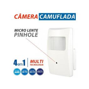 Câmera Escondida/camuflada Tipo Sensor De Alarme - Imagem Hd
