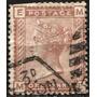 1694 Inglaterra Scott #79 Reina Victoria 1 P Usado 1880-81