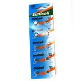 50 Baterías Eunicell Ag4 D377 L626 Sr66 Sr626sw 1.5v Alkalin