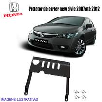 Protetor De Carter Do Honda New Civic 2007 Até 2012