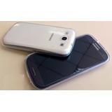 Capinha Tpu Celular Samsung Galaxy Mini S3 + Pelicula Vidro