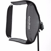 Softbox Godox 60x60 Para Speedlite Y Tripie Envio Gratis