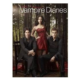 Mini Caderno Com Adesivos The Vampire Diaires 05545