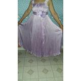 Vestido Largo Ideal Madrina, Civil, 15, Espectacular Fiesta