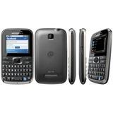 Celular Motorola Ex116 Com Camera, Radio, Mp3, Wifi, Qwerty