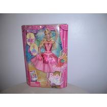 Muñeca Barbie Original De Mattel Zapatillas Magicas
