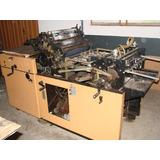 Máquina Impressora Offset Catu 510 Monocolor