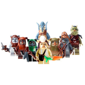 Star Wars Chief Chirpa Endor Wick Ewoks Compatible Con Lego