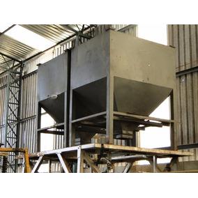Funil P/ Armazenar Material Plastico Até1500kg Primomaquinas