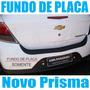 Novo Prisma Fundo De Placa Para-choque Traseiro