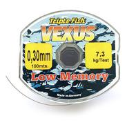 Nylon De Pesca Triple Fish Vexus 0,30mm X 100mts