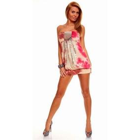 Mini Vestido Para Antro Muy Sexi Fiesta Moda Envio Gratis
