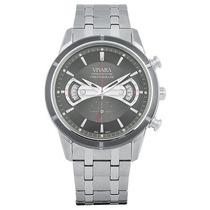 Relógio Vivara Masc. Aço Novo Ds11698r2d-1 Quartz Crono 12x!