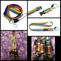 10 Portagafetes Llaves Bandera Orgullo Gay Lgtb Lesbiana
