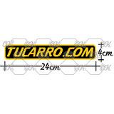 Etiqueta Autoadhesiva Tucarro.com Calcomania Cortada Vinyl