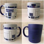 R2-d2 Star Wars Taza Magica Azul