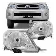 Juego Optica Toyota Hilux 2008 2009 2010 2011