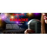Paquete De Karaokes Incluye Disco Duro Externo De 1tb