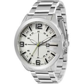 ad6fbe1df252d Relógio Feminino Analógico Lince Lrm4100l ¿ Prata - Relógios De ...
